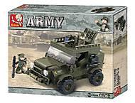 Конструктор «Армия, Внедорожник», M38-B0299, отзывы
