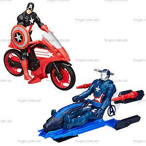 Игровая фигурка «Мстители» на транспортном средстве, B0431, купить
