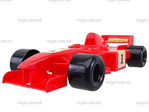 Игровая машинка «Формула», 39216, цена