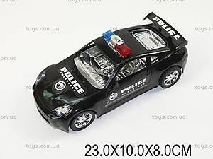 Авто инерционное «Полиция», 0123-6