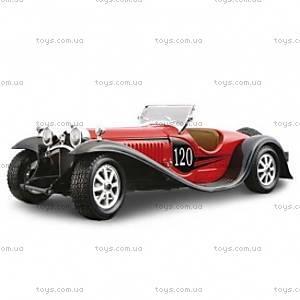"Авто-конструктор - BUGATTI ""TYPE 55"" (1932) (красный, синий 1:24), 18-25035"