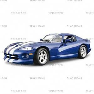 Авто-конструктор - DODGE VIPER GTS COUPE (1996) (синий, 1:24), 18-25023