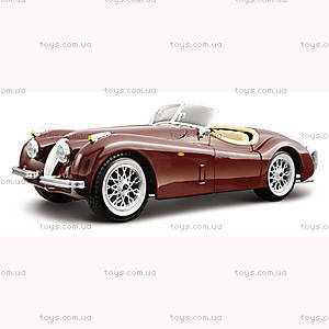Авто-конструктор Jaguar XK 120 Roadster 1948, 18-25061