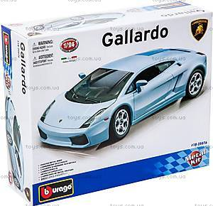Авто-конструктор Lamborghini Gallardo, голубой, 18-25076