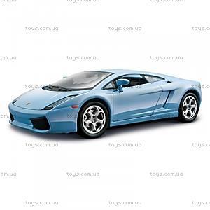 Авто-конструктор Lamborghini Gallardo, голубой, 18-25076, купить
