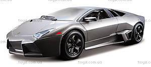 Авто-конструктор Lamborghini Reventon, серый, 18-25081