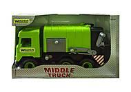 Зеленое авто серии «Middle truck», 39484, фото