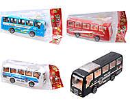 Автобус инерционный для игры, 399-78, купить