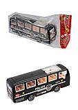 Автобус инерционный для игры, 399-78