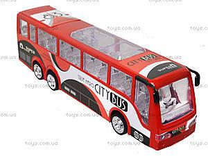 Игрушечный инерционный автобус, пластик, 768, купить