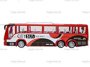 Игрушечный инерционный автобус, пластик, 768, фото