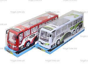 Игрушечный инерционный автобус, пластик, 768, отзывы