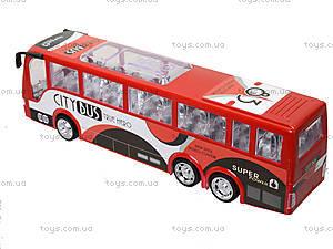 Игрушечный инерционный автобус, пластик, 768, цена