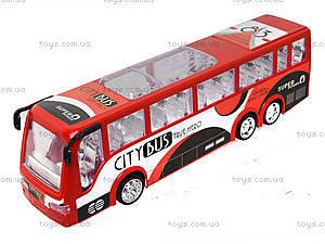 Игрушечный инерционный автобус, пластик, 768, игрушки