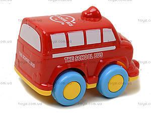 Инерционная машинка «Автобус», 812-1, отзывы