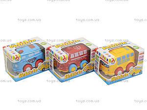 Инерционная машинка «Автобус», 812-1, магазин игрушек