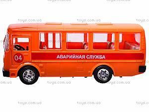 Автобус «Аварийная служба», инерционный, 32120, отзывы