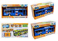 Автобус со светом и звуком, 8915, фото