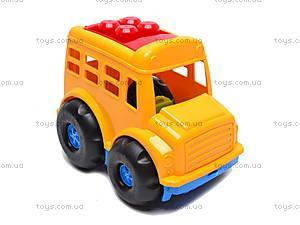 Автобус «Бусик», с лопаткой и граблями , 0084, купить