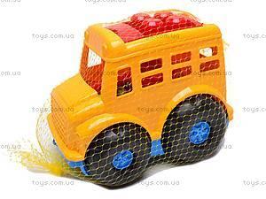 Автобус «Бусик», с лопаткой и граблями , 0084, цена
