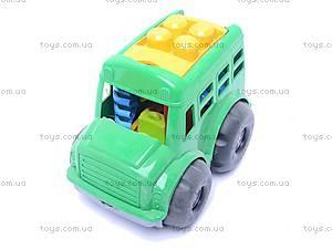 Автобус «Бусик», с песочным набором, 0107, купить