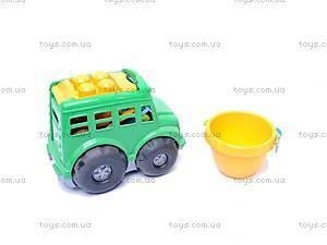 Автобус «Бусик», с песочным набором, 0107, фото