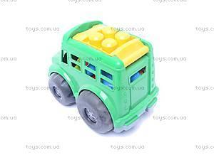 Автобус «Бусик», с песочным набором, 0107, отзывы