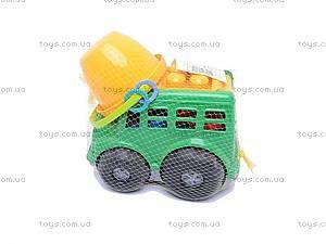 Автобус «Бусик», с песочным набором, 0107, цена