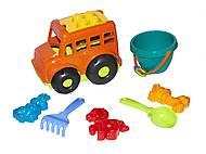 Автобус «Бусик №3» (оранжевый), 0107