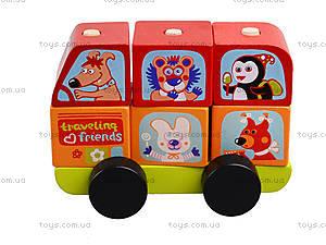 Деревянный автобус, 13197, купить