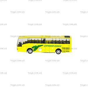 Автобус детский инерционный, 27893-80136L, купить