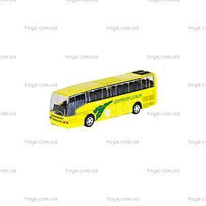 Автобус детский инерционный, 27893-80136L, фото