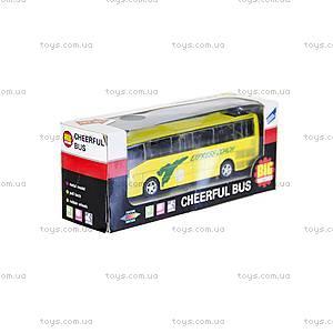 Автобус детский инерционный, 27893-80136L, отзывы