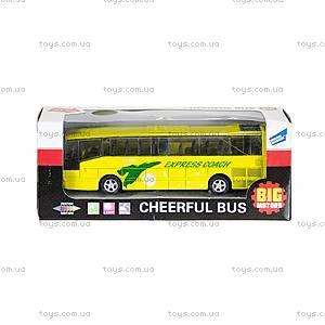 Автобус детский инерционный, 27893-80136L
