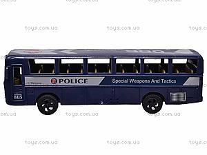 Автобус игровой Swat, 999-065A, фото