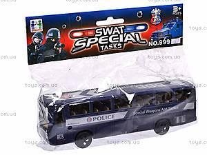 Автобус игровой Swat, 999-065A, отзывы