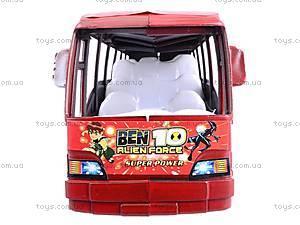 Автобус инерционный Ben 10, 8081, игрушки