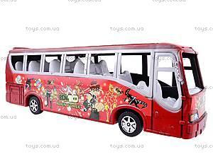 Автобус инерционный Ben 10, 8081, детские игрушки