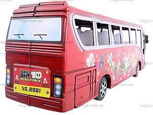 Автобус инерционный Ben 10, 8081, магазин игрушек