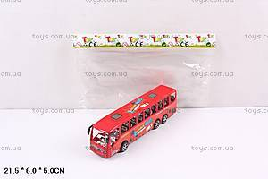 Автобус инерционный для детей, TQ123-13A