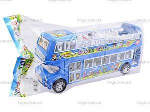 Автобус инерционный двухэтажный, 108-8A