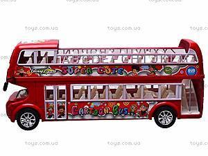Автобус инерционный двухэтажный, 108-8A, купить