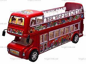 Автобус инерционный двухэтажный, 108-8A, фото