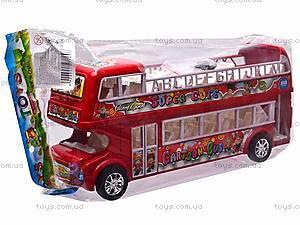 Автобус инерционный двухэтажный, 108-8A, отзывы