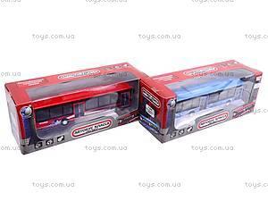 Автобус инерционный металлический, 12400