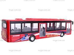 Автобус инерционный металлический, 12400, фото