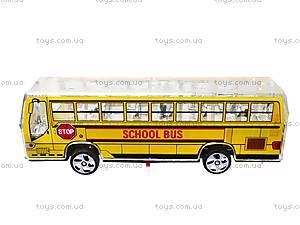 Автобус инерционный музыкальный, 998-35F1, купить