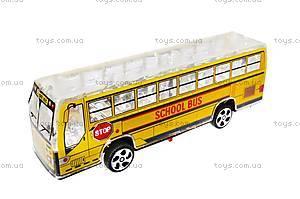 Автобус инерционный музыкальный, 998-35F1, фото