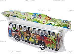 Автобус инерционный музыкальный, 998-35F1, цена