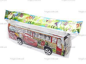 Автобус инерционный музыкальный, 998-35F1